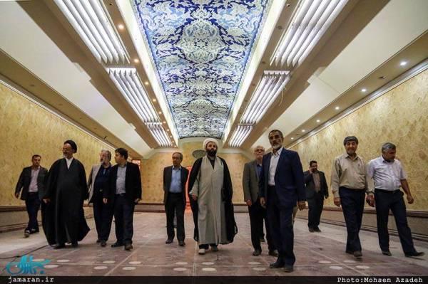 Para Pimpinan Iran Sedang berziarah